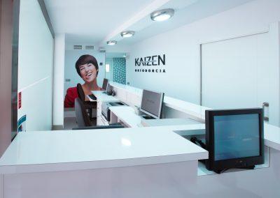 Recepción Clínica Kaizen Marbella